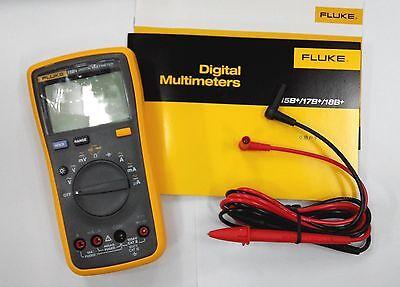 Fluke F15b Auto Range Digital Multimeter Meter Tester Dmm Volt Ohm Capacitance