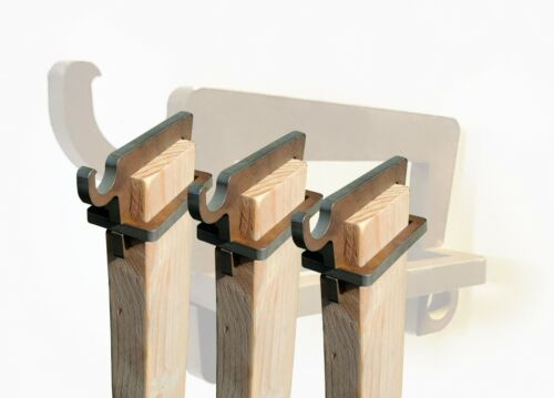 (x3) Hangers For AR500 Steel Shooting Target 2X4 Topper Hook Gong (THREE)