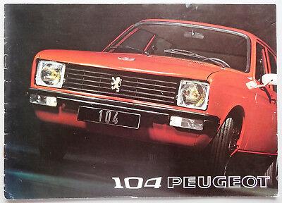 V04296 PEUGEOT 104 5 PORTES