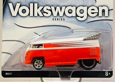 HOT WHEELS TOYS R US MAIL-IN * CUSTOMIZED VW DRAG BUS  MICROBUS * ORANGE * BONUS