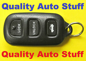 2002 2006 toyota solara camry keyless entry remote fob gq43vt14t 4 button tru. Black Bedroom Furniture Sets. Home Design Ideas