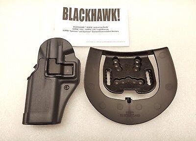 Blackhawk Serpa Sportster Left Hand Gray Gun Holster - S&W M&P - 413525BK-L