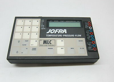 Ametek Jofra Mlc Multi-loop Calibrator