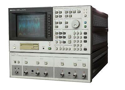 Hp Hewlett Packard 4195a Network Spectrum Analyzer 10hz-500mhzmeasurement Unit