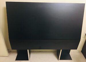 Twin sized black headboard