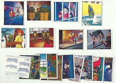 1995 PANINI Teenage Mutant Ninja Turtles 18 Unused Stickers
