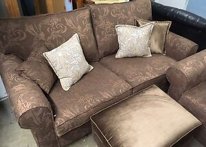 Love Seat, Chair, and matching Ottoman for SALE !!