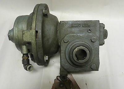 Gast 2am-ncc-43a Air Motor With Hub City Speed Reducer 185 601 Ratio