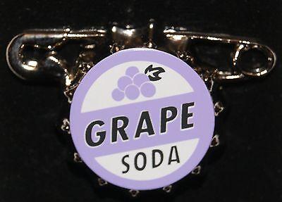 Disney Pixar Up Ellie Badge Grape Soda Pin NEW ON ORIGINAL CARD