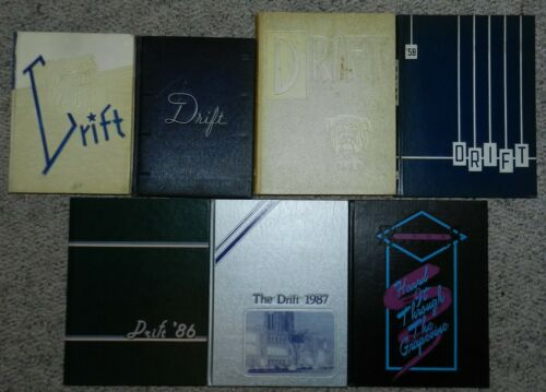 The Drift Yearbook - Butler University Indianapolis, Indiana 1939 - 1988