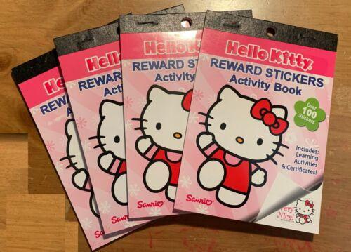 Sanrio Hello Kitty Set of 4 Reward Stickers Activity Books!  NEW