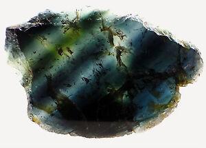 Wunderschöne blaue Turmalin Scheibe Querschnitt Madagaskar 73,2Ct. 58mm **TOP**