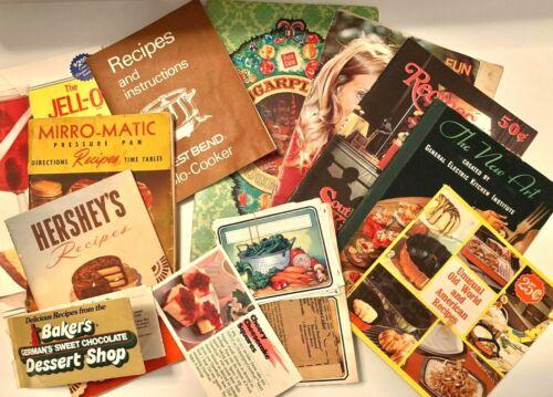 VTG Lot Recipe Booklets Hershey