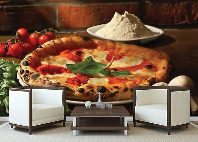 Photo Wallpaper Mural  20224_P Italian Breeze Pizza Pizza Italian Tomatoes Flour
