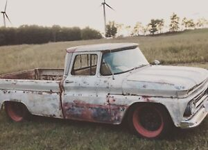 Bagged Rat Rod. 63 Chevy