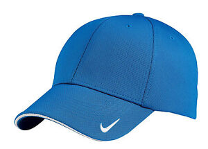 NIKE GOLF DRI-FIT MESH SWOOSH FLEX BRAND NEW FIT FITTED BALL CAP 333115