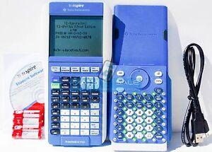 Texas Instruments TI-84 Plus Graphing Calculator in TI-Nspire - TI-84+ - BLUE
