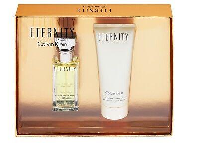 Calvin Klein Eternity EDP 30 ml Eau de Parfum Spray & Duschgel 100 ml SET NEU  ()