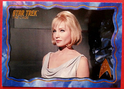 """STAR TREK TOS 50th Anniversary - """"THE CAGE"""" - GOLD FOIL Chase Card #26"""