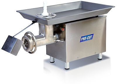 Commercial 32 Butcher Meat Grinder 3 Hp 3300 Lbs Prod. 220 Volt 1 Phase