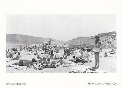 Kalifornien Post (* Kalifornien Postkarte The Castaic Reservoir *Santa Clarita Valley- (A329))
