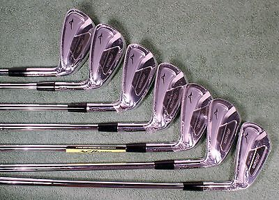 NEW RH Mizuno MP-59 4-PW Forged Iron Set KBS Tour 120 Steel Stiff-Flex Shafts