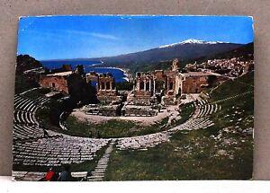 Taormina - Teatro Greco [grande, colore, viaggiata] - Italia - L'oggetto può essere restituito - Italia
