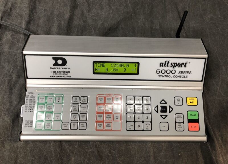 Gen 6 Wireless Daktronics All Sport 5000 Scoreboard Controller AS 5010R6