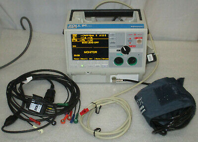 Zoll M Series Biphasic 12 Lead Spo2 Nibp Etco2 Aed Pacing Pacer