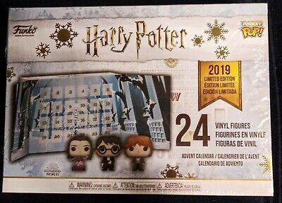 "Funko Pop ""Harry Potter"" 24 Vinyl Figures / Advent Calendar. Complete Set."
