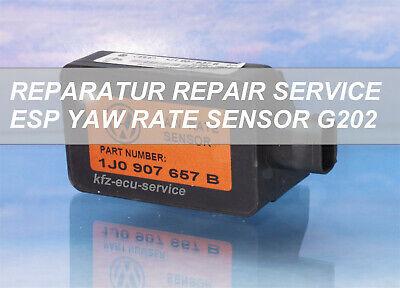 Reparatur AUDI TT S3 A3 A2 Drehratensensor 1J0907657B  1J1907637B G202 YAW