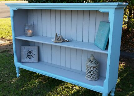 Beach shack bookcase shabby chic furniture rustic display home Griffin Pine Rivers Area Preview