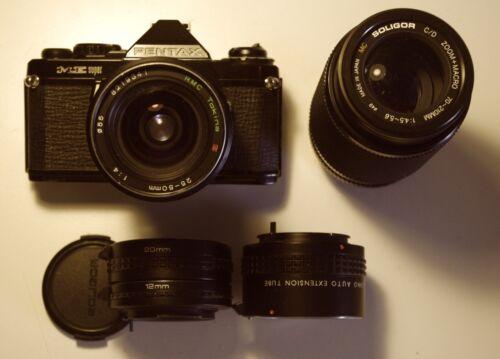 35-mm Pentax Me Super * Spiegelreflex Kamera * Ananlog * Zubehör