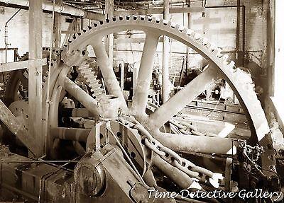 Powered Marine (Large Gear for Steam-Powered Marine Railway, New London, CT - Steampunk Photo)