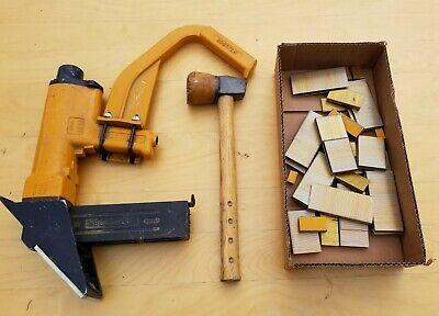 Bostitch Model M3 Pneumatic Floor Stapler Nailer. Used.