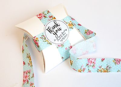 EDDING FAVOUR BOX, PERSONALISED STICKERS, LABELS THANK YOU (Small Favor Boxen)