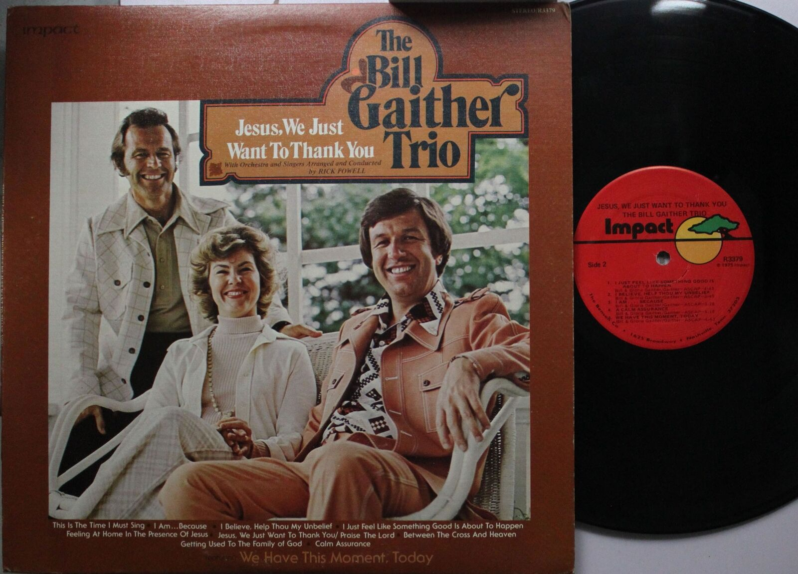 Country Lp The Bill Gaither Trio Jesus We Just Want To Thank You On