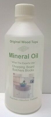 Pure Mineral Oil  - Food safe-cutting board- 250ml