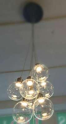 Höhenverstellbare Pendelleuchte LED Fancy Design Lampe Hängeleuchte Esszimmer
