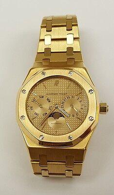 Audemars Piguet Royal Oak Moonphase Solid 18K Gold