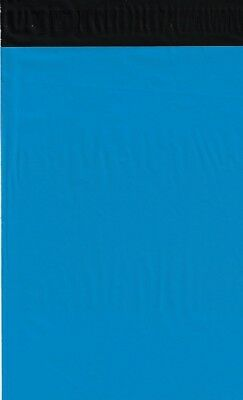 50 24x24 Blue Poly Mailers Shipping Envelopes Couture Boutique Quality Bags
