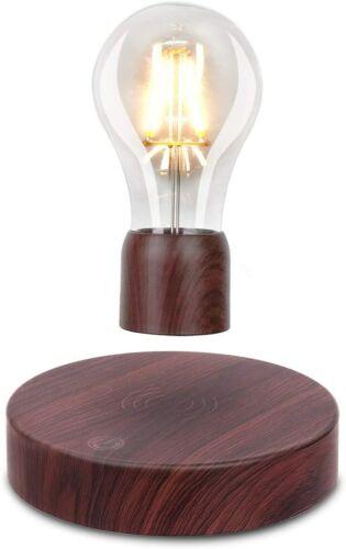 Magnetic Levitating Floating Wireless LED Light Bulb Desk Lamp for Unique Gifts