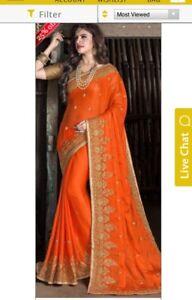 Indian ladies garva diwali dress sari blouse gown salwar