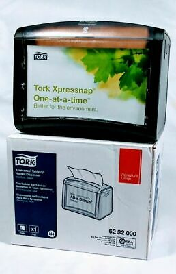 Tork Xpressnap Tabletop Restaurant Napkin Dispenser New Nib Customizable Window