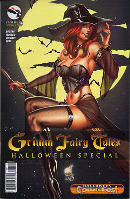 GRIMM FAIRY TALES HALLOWEEN SPECIAL 2014 COMIC FEST NO STORE STAMP!](Sprite Halloween Store)