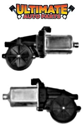 Front Power Window Motors (Pair) LH & RH for 81-83 Plymouth PB350 Voyager Van