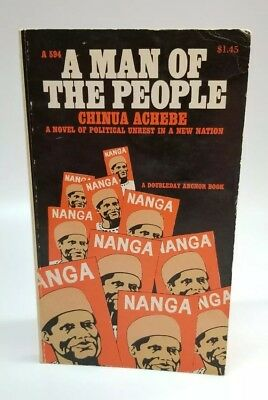 Vintage PB 'A Man of the People' 1st Anchor Book Ed by Chinua