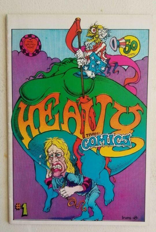 Heavy Tragicomics #1 Underground Comix 1969 Print Mint Nice condition