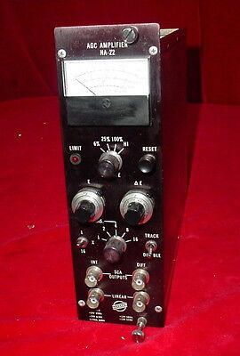 Harshaw Nim Bin Module Na-22 Agc Amplifier Amp Na22 Plug-in