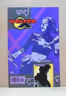WEAPON X: THE DRAFT - MARROW - UNKNOWN 10/02 Marvel 9.0 VF/NM Uncertified